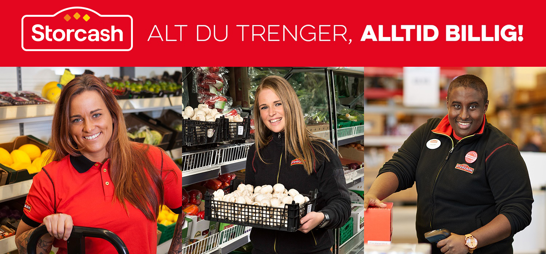 Engasjert og dyktig butikkmedarbeider søkes til Buskerud Storcash!