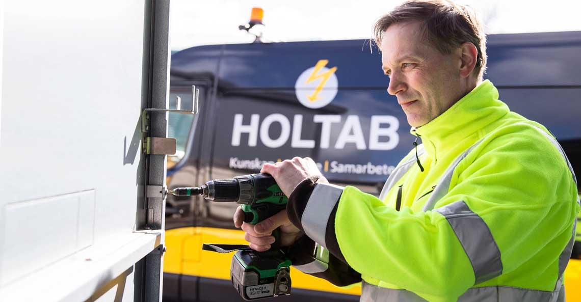 Holtab söker Chef till Division Service